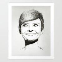 Women Black & White Art Print