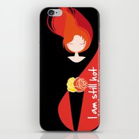 I am still hot... it now just comes in flashes iPhone & iPod Skin