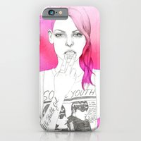 iPhone & iPod Case featuring Little Trouble Girl by Camis Gray