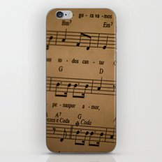 Music Tabs iPhone & iPod Skin
