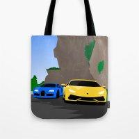 Lamborghini & Bugatti Tote Bag