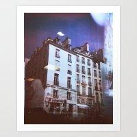 Paris Holga, Le Marais Art Print