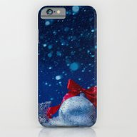 Silver Blue Ornaments iPhone 6 Slim Case