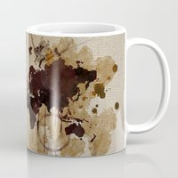 Map Stains Mug
