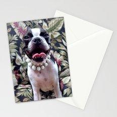 My best Barbara Bush look Stationery Cards