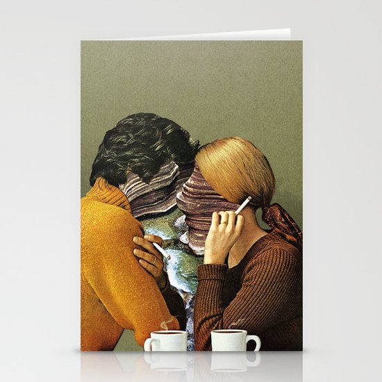 A Creek Between Us Stationery Card