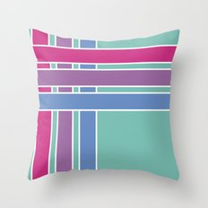 Step in Line Throw Pillow