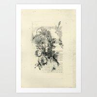 The Art Of Flower Arrangement 2 Art Print