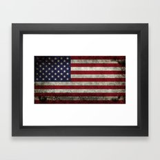 American Flag, Old Glory… Framed Art Print