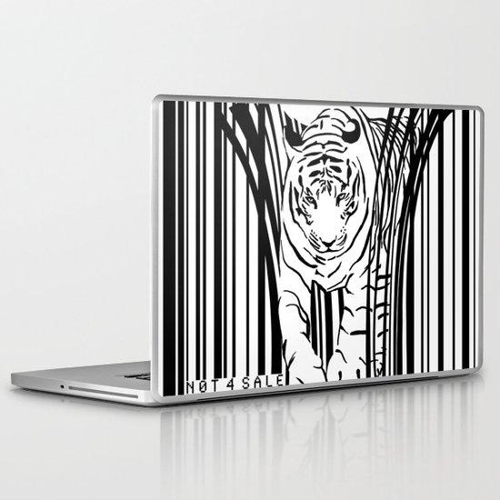 Tigers extinct in 12 years? Laptop & iPad Skin