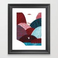 Russian Folk Tales - Tzar of the seas II Framed Art Print
