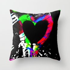 Profits for Charity - Room For A Heart Throw Pillow