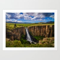 North Clear Creek Falls Art Print