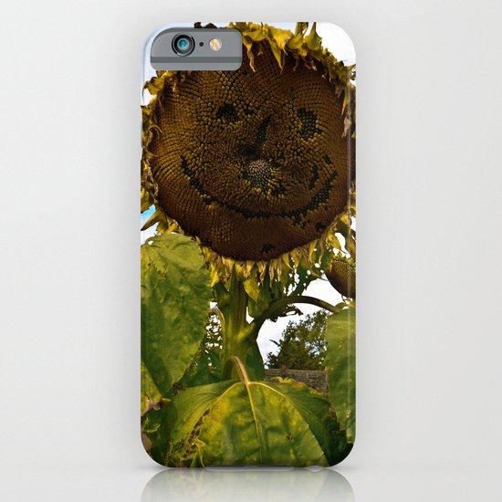 Mister Sunflower iPhone & iPod Case