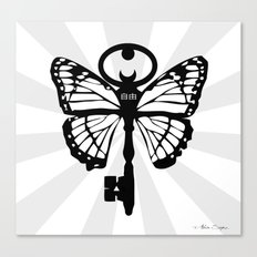 The Key Of Liberty (自由) Canvas Print
