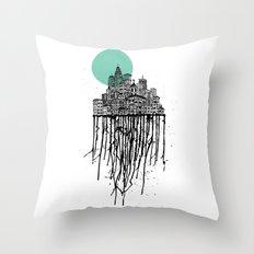 City Drips Throw Pillow