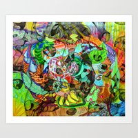 Everything In Life Is Tr… Art Print