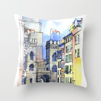 Porta Soprana Throw Pillow
