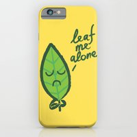 The introvert leaf iPhone 6 Slim Case