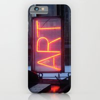 iPhone & iPod Case featuring Neon Art by Deesign