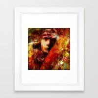 Spirits Torment (With Ganech Joe) Framed Art Print