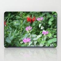 Bee Balm iPad Case