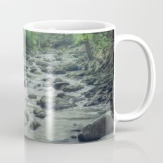 Misty Forest Stream Mug