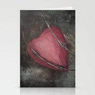 Trapped Heart II Stationery Cards