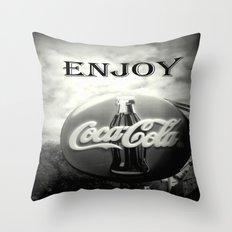 Coca Cola #2 Throw Pillow
