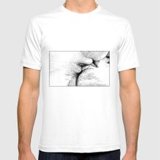 asc 327 - Le baiser du Créateur (The Divine kiss) Mens Fitted Tee White SMALL