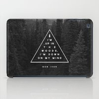 Woods -- Bon Iver iPad Case