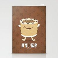 Coffee Cake Stationery Cards