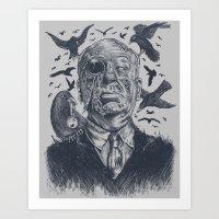 The Birds Attack Art Print
