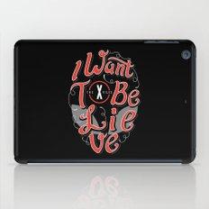 Believe iPad Case