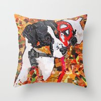 Kopi  Throw Pillow