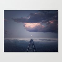 Without a Road Map Canvas Print