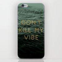 Vibe Killer iPhone & iPod Skin