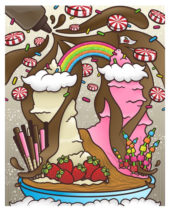 My Sundae Daydream Art Print