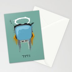 The Robot Stationery Cards
