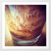 Coffee with Cream Art Print