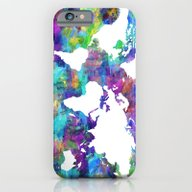 iPhone & iPod Case featuring World Map by Bekim ART