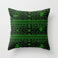 Aztec 3# Throw Pillow