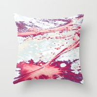 Petiole Throw Pillow