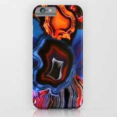 Agate, What springs from Earth dissolves to Earth again iPhone 6 Slim Case