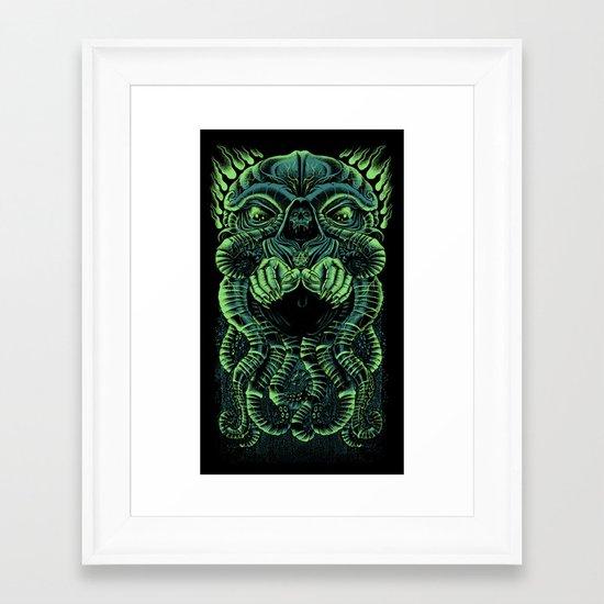 The Cultist Framed Art Print