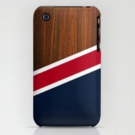 Wooden New England iPhone (3g, 3gs) Slim Case