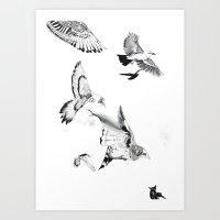 Extinction part3 Art Print
