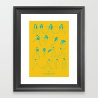 Flight Of The Conchords Framed Art Print