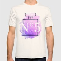 Perfume No.5 Mens Fitted Tee Natural SMALL