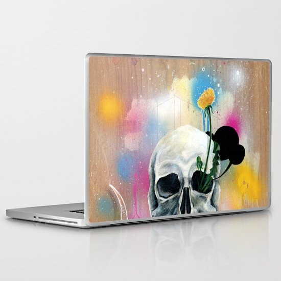 Skull Roots Laptop & iPad Skin
